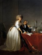 David Portrait of Antoine-Laurent and Marie-Anne Lavoisier 1788